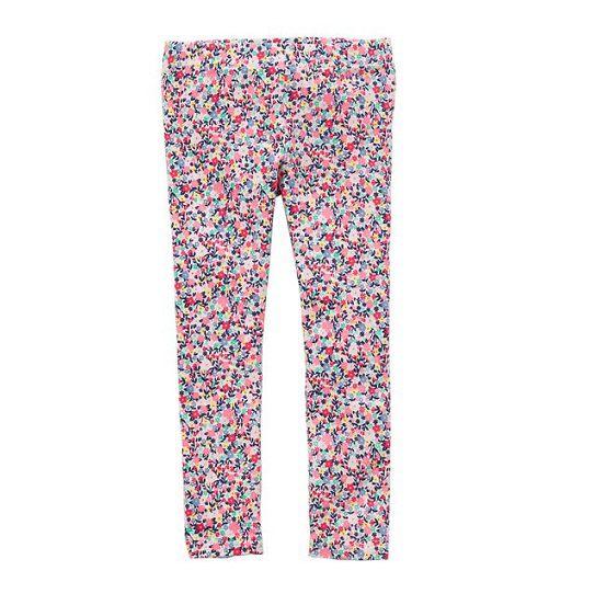 Calça legging rosa floral - Carter