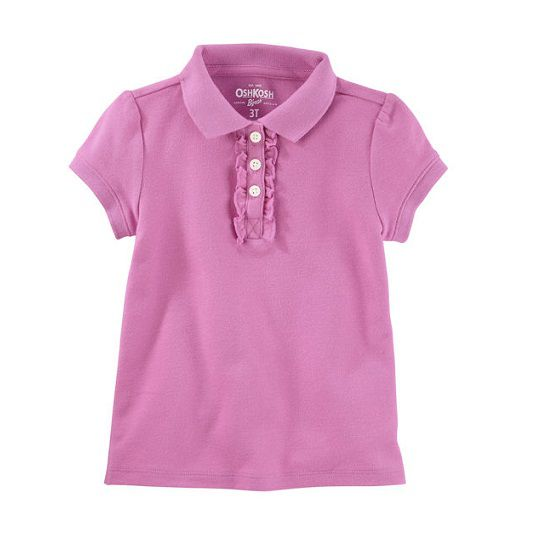 Camisa polo lilás - OshKosh  - Kaiuru Kids
