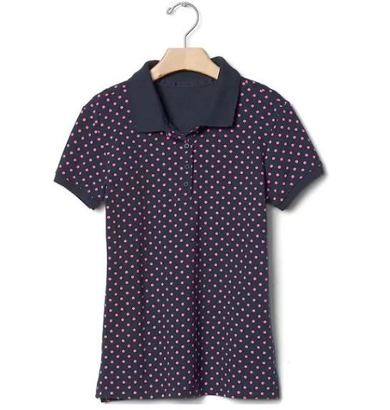 Camisa polo piquet poá - GAP  - Kaiuru Kids