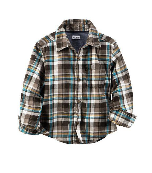 Camisa xadrez manga longa - Carter