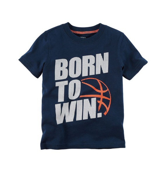 Camiseta Born to Win - Carter