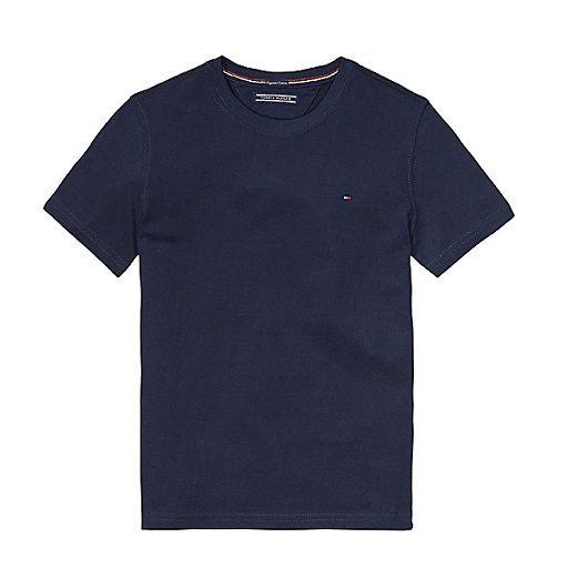 Camiseta clássica azul marinho - Tommy Hilfiger  - Kaiuru Kids