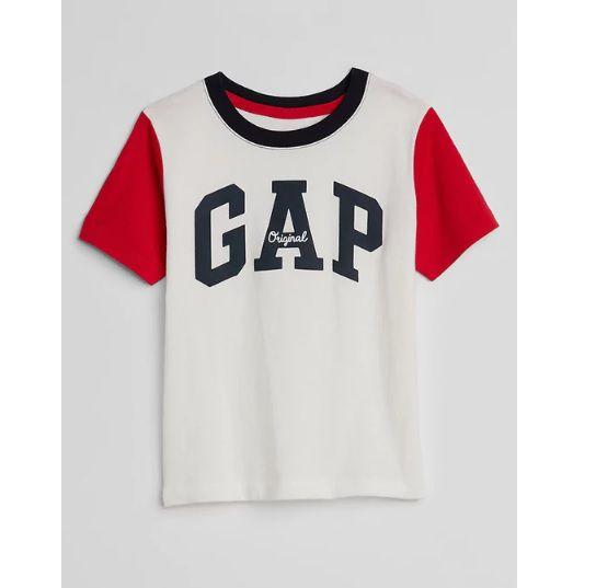Camiseta manga curta colorblock - GAP  - Kaiuru Kids
