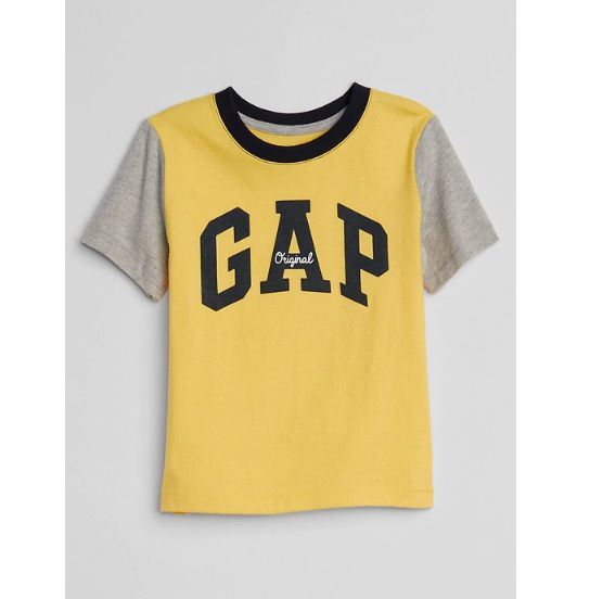 Camiseta manga curta colorblock - GAP  - Kaiuru Kids
