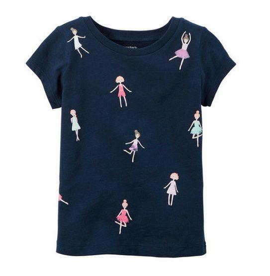 Camiseta manga curta dançarinas - Carter