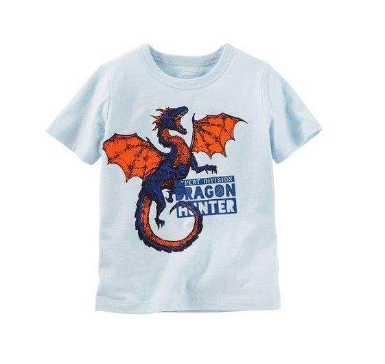 Camiseta manga curta Dragão - OshKosh  - Kaiuru Kids