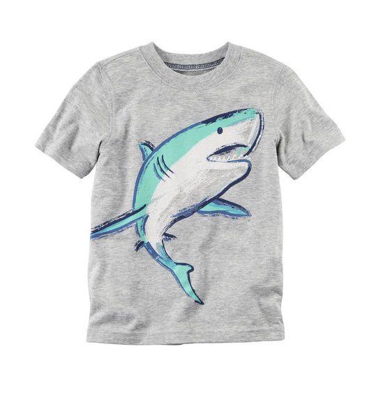 Camiseta manga curta Tubarão - Carter