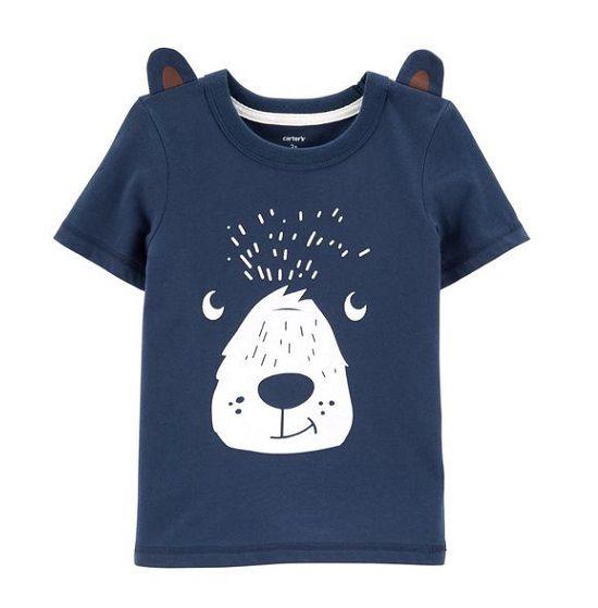 Camiseta manga curta Urso - Carter
