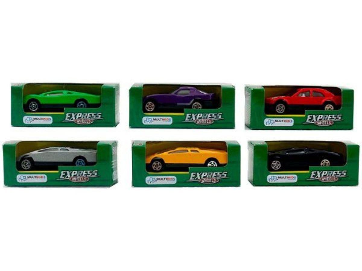 Carrinho Express wheels diversos 3+ anos - Multikids  - Kaiuru Kids