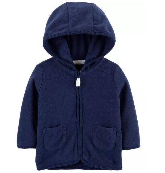 Casaco de fleece azul marinho - Carters  - Kaiuru Kids