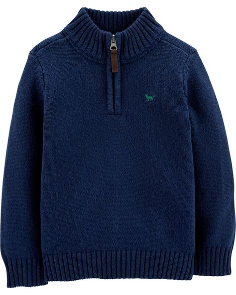 Casaco de lã azul marinho - Carter