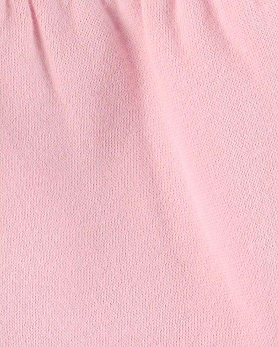 Casaco de moletom e fleece rosa - Carters  - Kaiuru Kids