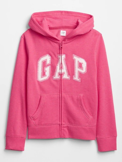 Casaco de moletom rosa Kids - GAP  - Kaiuru Kids