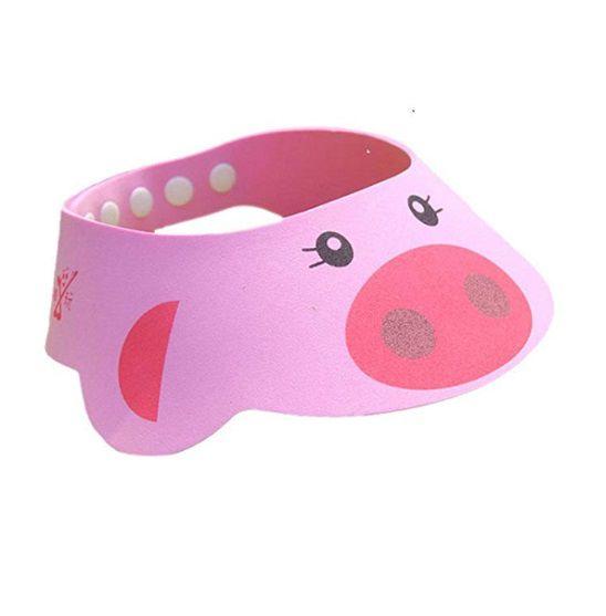 Chapéu de banho rosa porquinha  - Kaiuru Kids