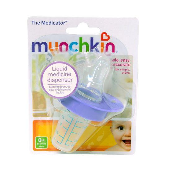 Chupeta para medicamento lilás - Munchkin  - Kaiuru Kids