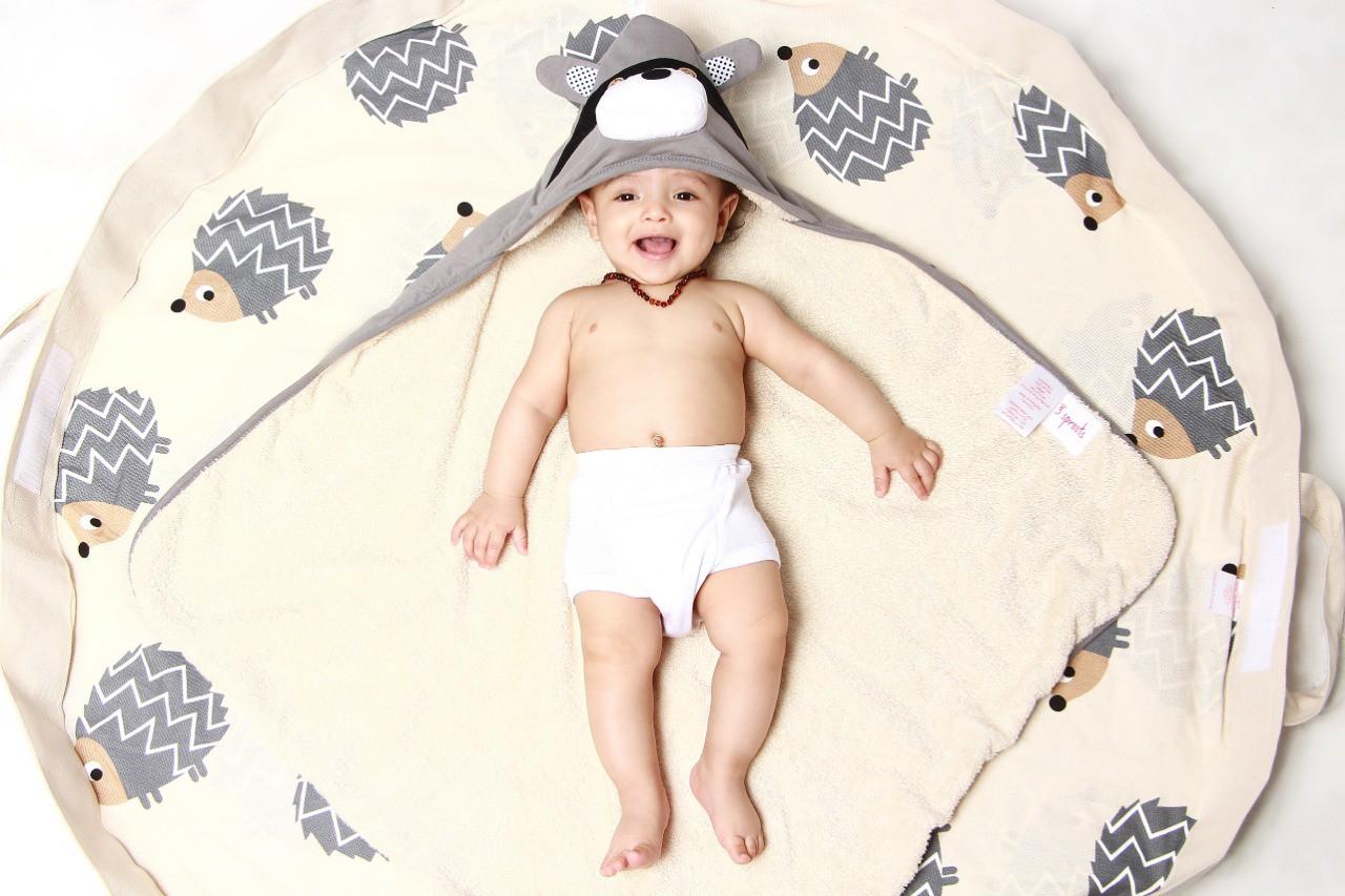 Colar de âmbar baroque Limão 32 cm - Âmbar Baby Care  - Kaiuru Kids