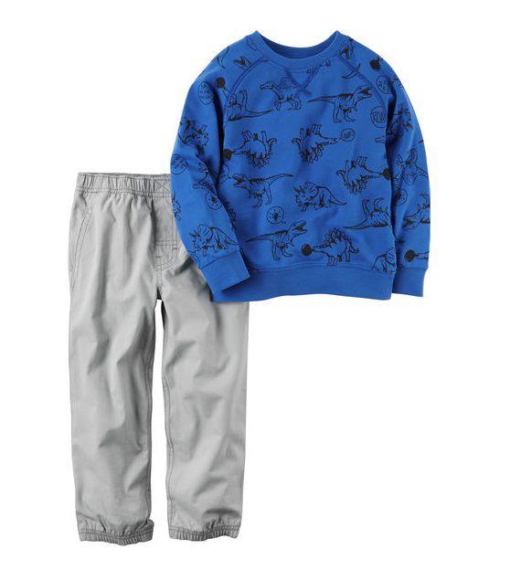 Conjunto calça jogger e moletom - Carters  - Kaiuru Kids