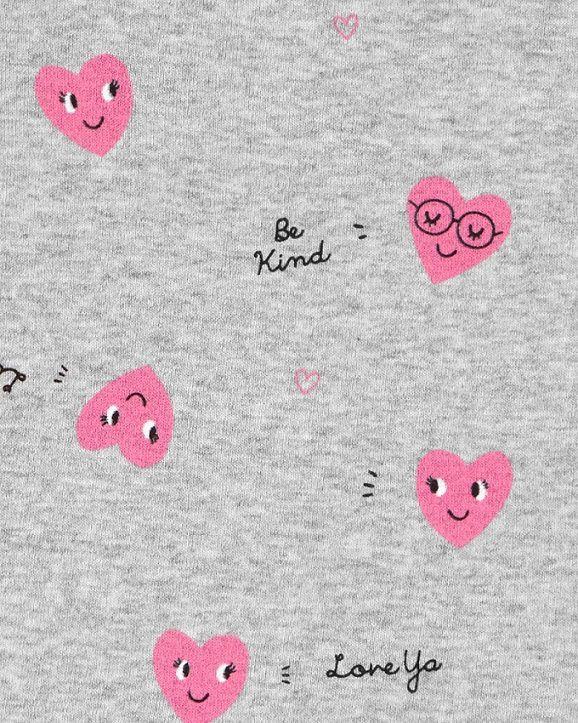 Conjunto pijamas verão corações - Carters  - Kaiuru Kids