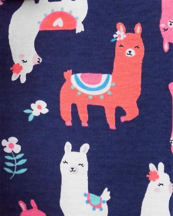 Conjunto pijamas verão lhama - Carters  - Kaiuru Kids