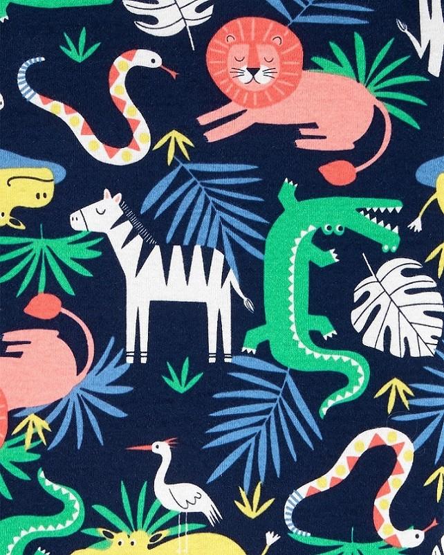 Conjunto pijamas verão verde jacaré - Carters  - Kaiuru Kids