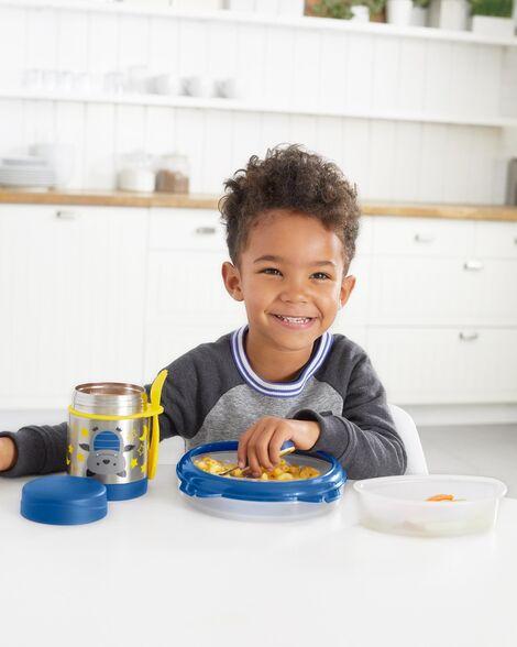 Conjunto prato e tigela smart serve Morcego - Skip Hop  - Kaiuru Kids