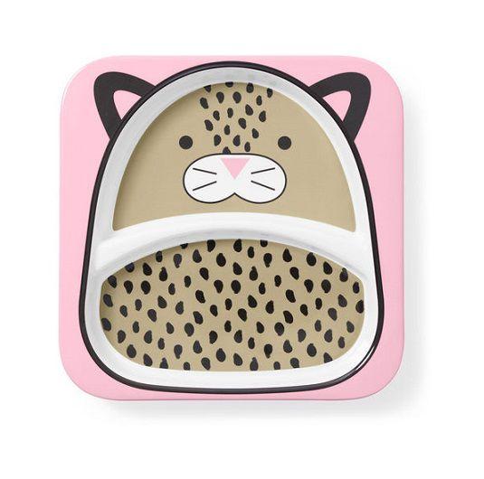 Conjunto prato raso e tigela Leopardo - Skip Hop  - Kaiuru Kids