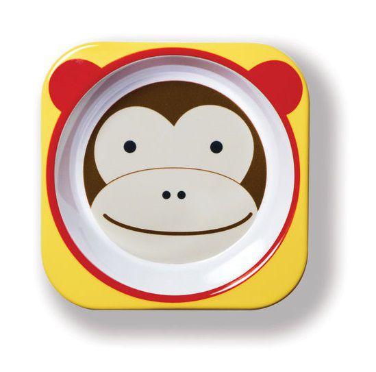 Conjunto prato raso e tigela Macaco - Skip Hop  - Kaiuru Kids