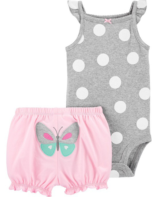 Conjunto short e body bolas - Carters  - Kaiuru Kids