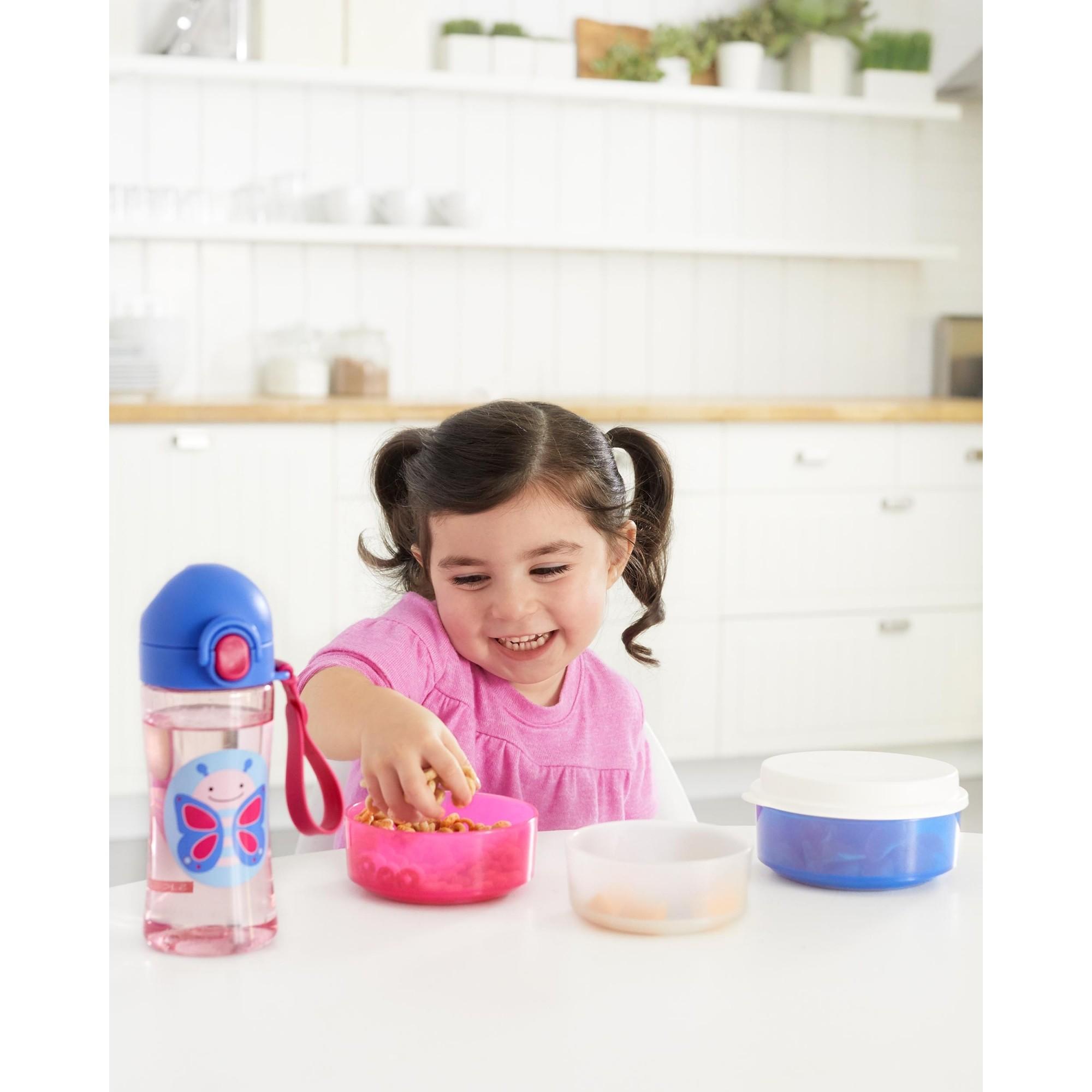 Conjunto tigelas smart serve Borboleta - Skip Hop  - Kaiuru Kids