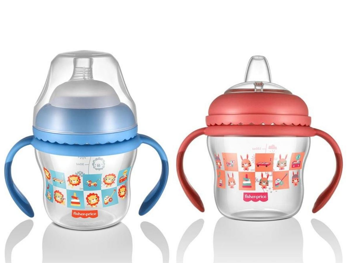 Copo de Transição First Moments 150ml (4M+) Fisher-Price  - Kaiuru Kids