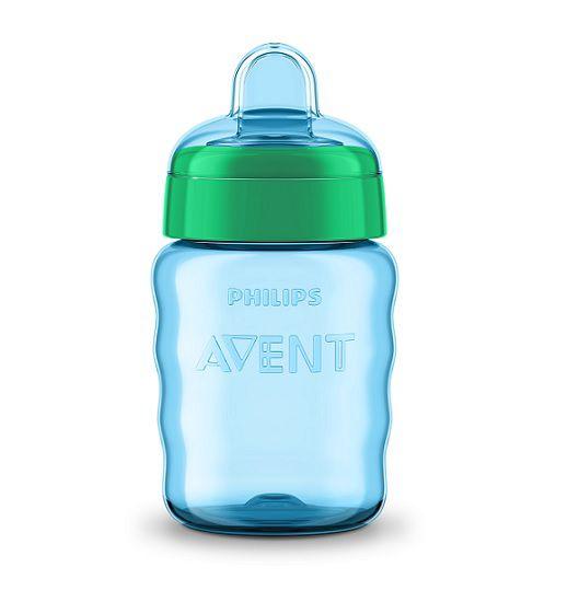 Copo easy sip bico de silicone azul 260 ml 9M+ Avent  - Kaiuru Kids