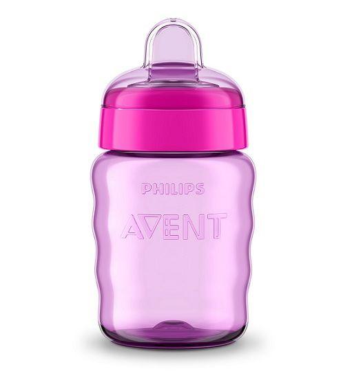 Copo easy sip bico de silicone lilás 260 ml 9M+ Avent  - Kaiuru Kids