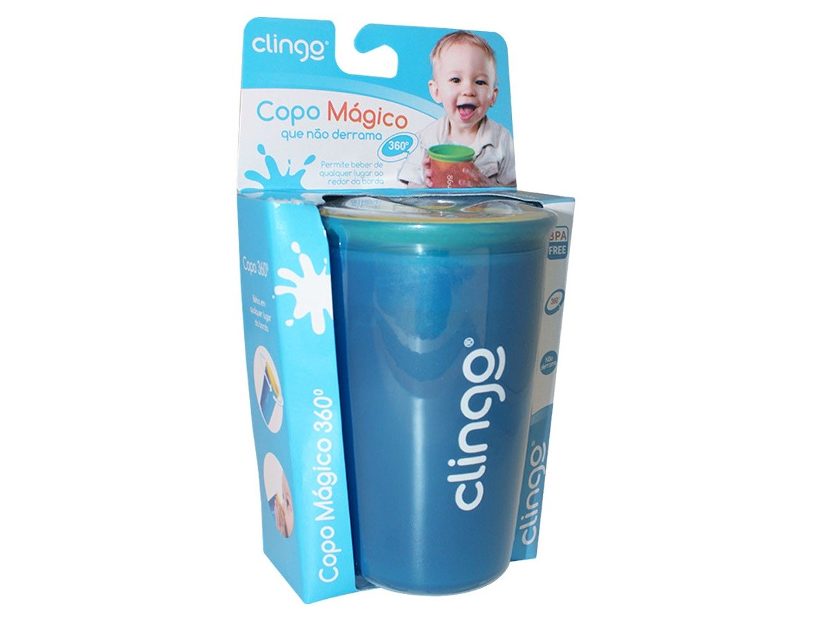 Copo mágico 360 12M+ Clingo  - Kaiuru Kids