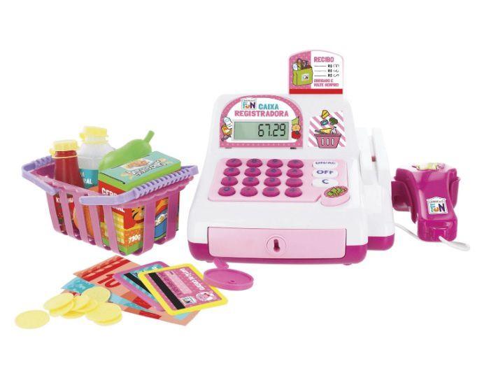 Creative fun Caixa registradora rosa - Multikids  - Kaiuru Kids