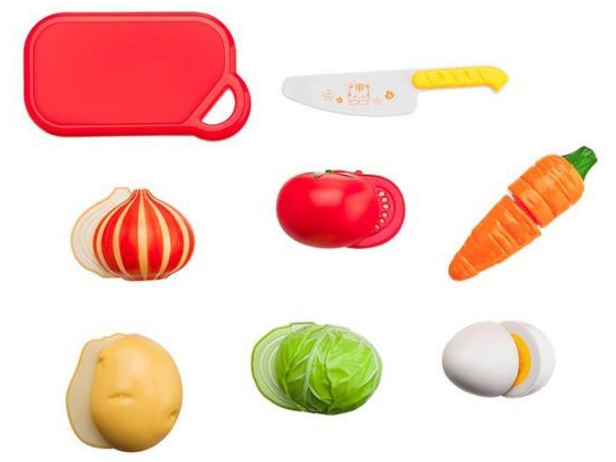 Creative Fun cestinha de 6 legumes 3+ anos - Multikids  - Kaiuru Kids