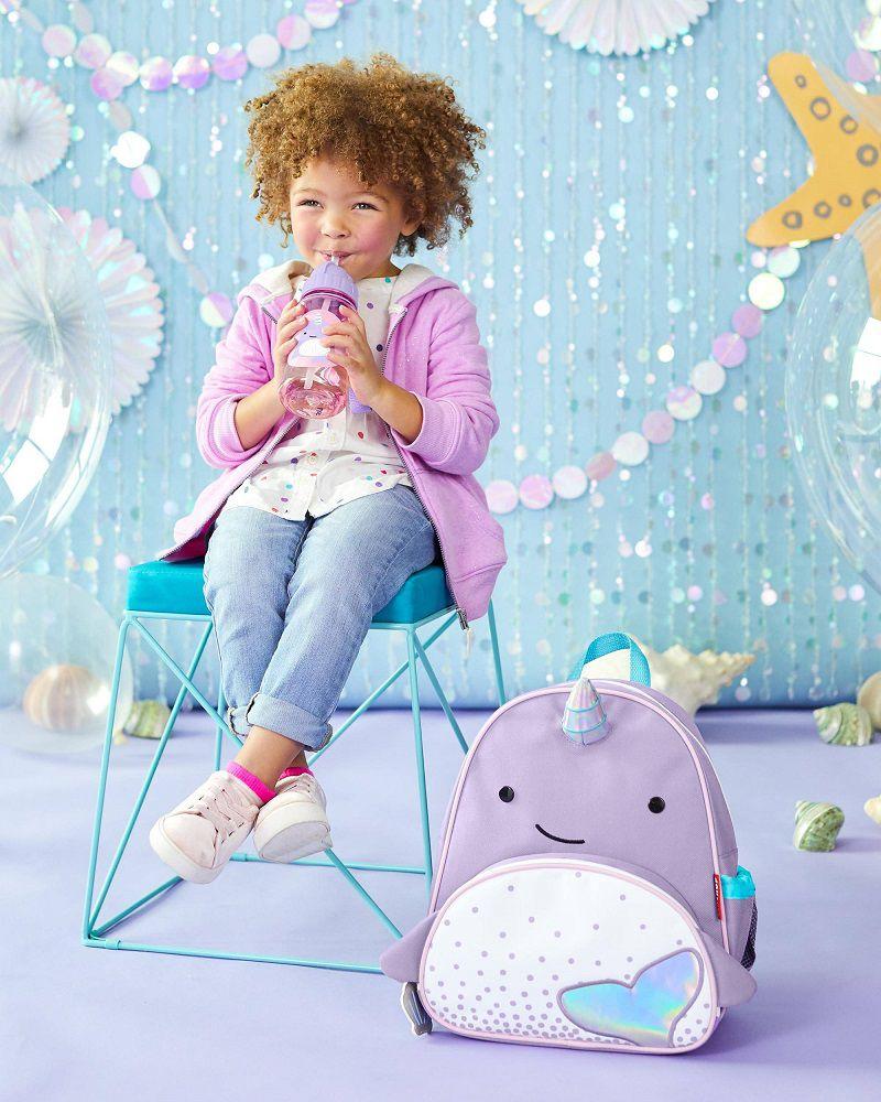 Garrafinha plástica Baleia narval - Skip Hop  - Kaiuru Kids