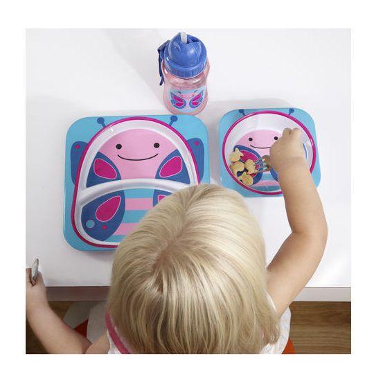 Garrafinha plástica Borboleta - Skip Hop  - Kaiuru Kids