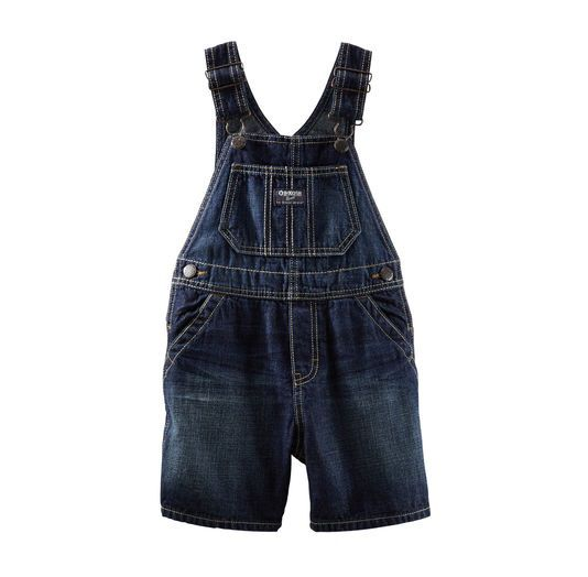 Jardineira jeans dark - OshKosh  - Kaiuru Kids