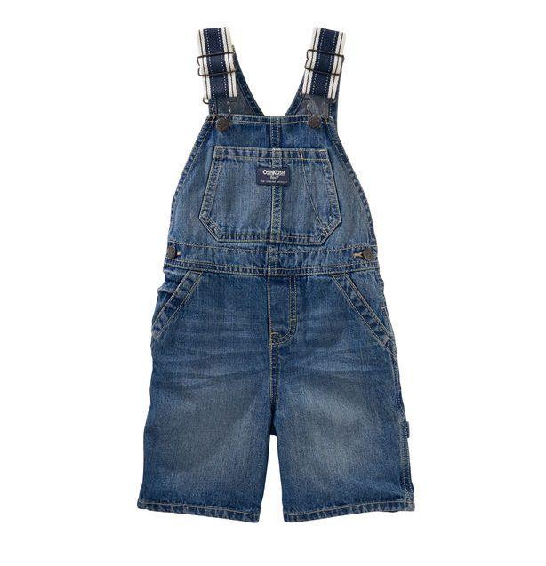 Jardineira jeans índigo - OshKosh  - Kaiuru Kids