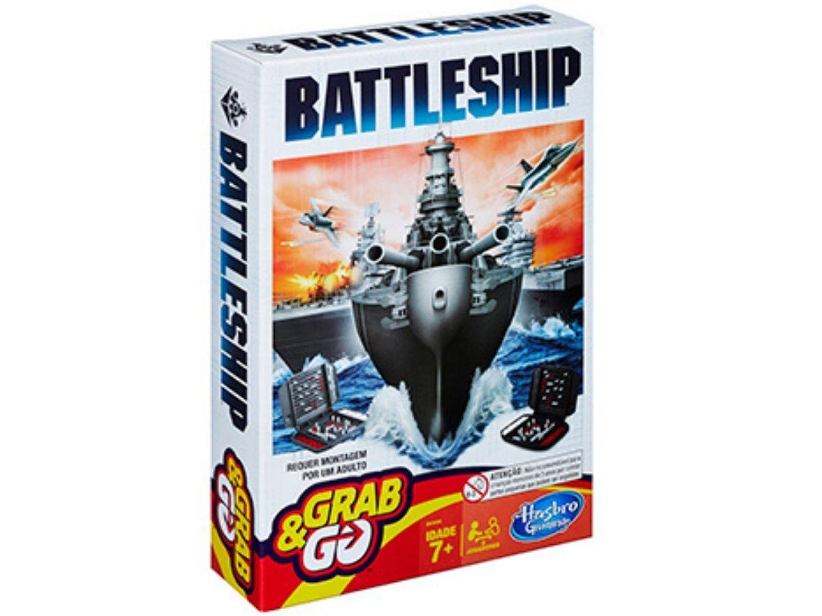 Jogo Batalha Naval Grab & Go 7+ anos - Hasbro  - Kaiuru Kids