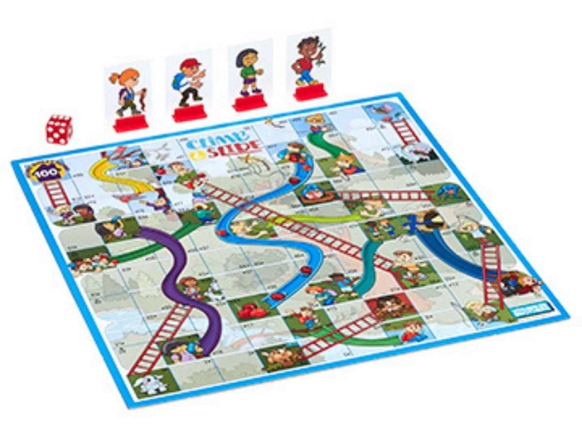 Jogo de tabuleiro Subindo e descendo 3+ anos - Hasbro  - Kaiuru Kids
