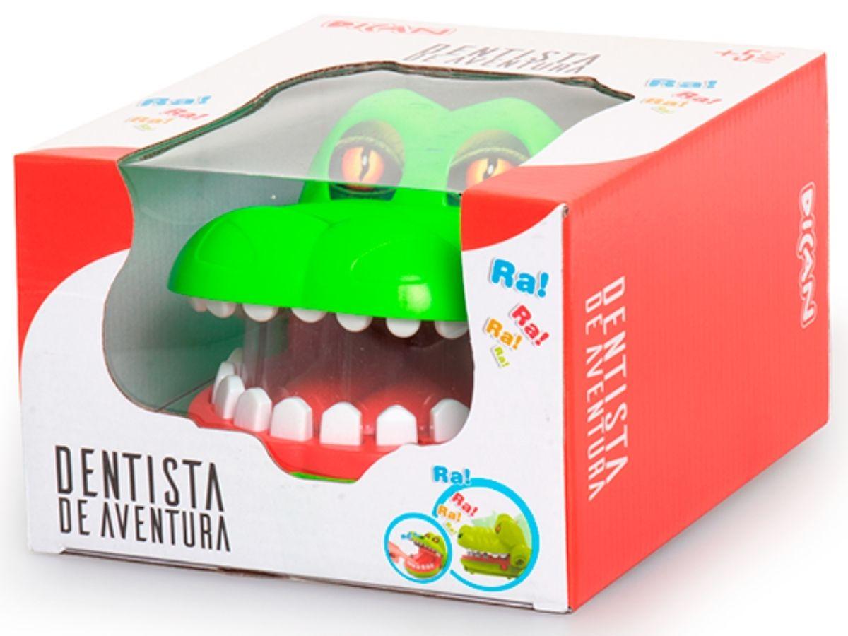 Jogo Dentista de aventura 5+ anos - Dican  - Kaiuru Kids