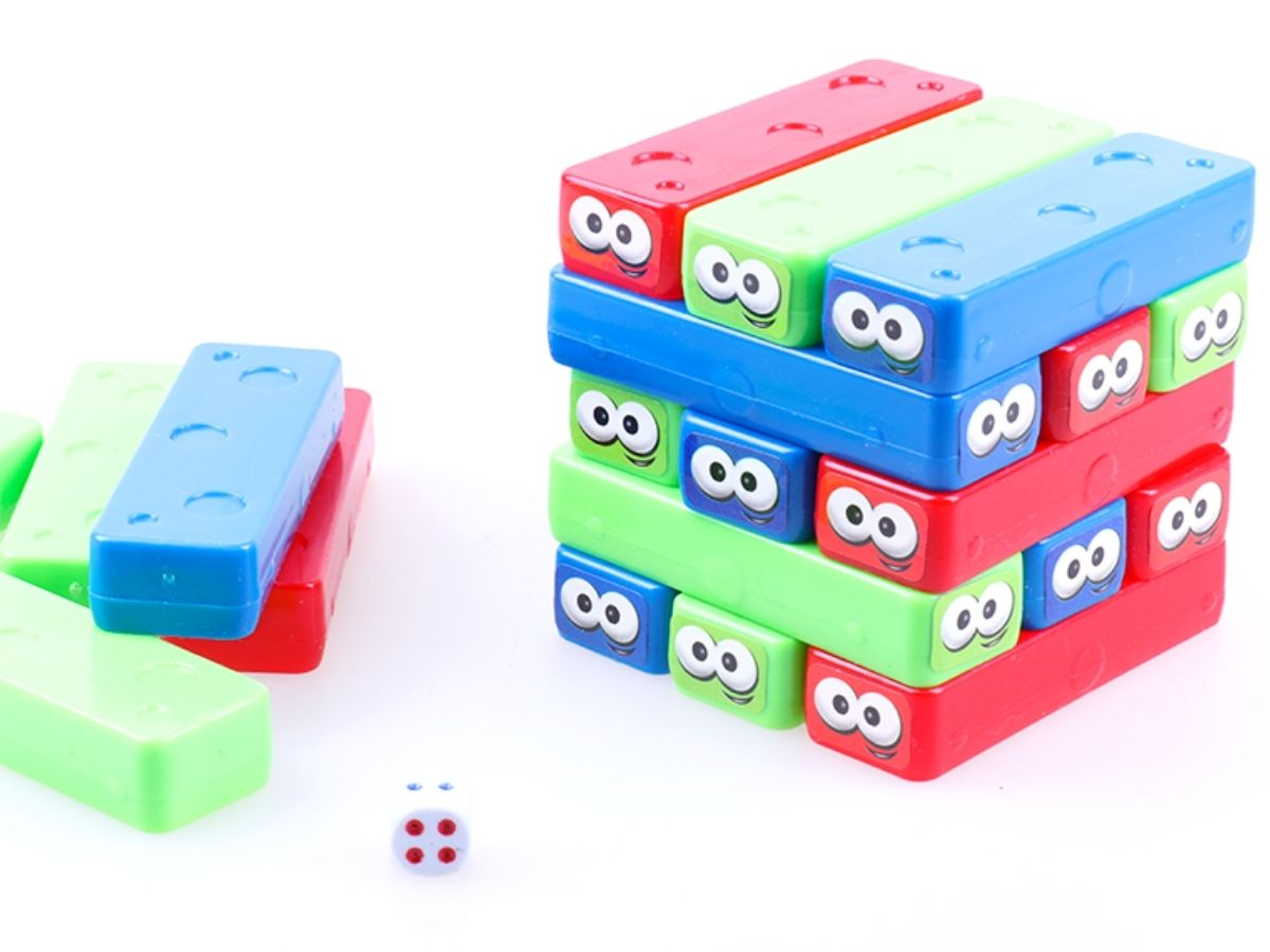 Jogo Equiliblocos 4+ anos - Dican  - Kaiuru Kids