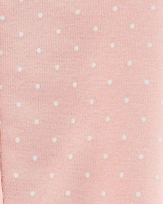 Kit 2 macacões de malha rosa - Carter