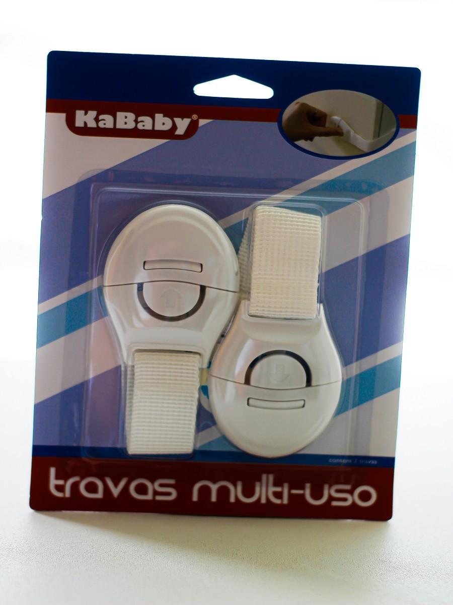 Kit 2 Travas Multiuso Tecido Branco - KaBaby  - Kaiuru Kids