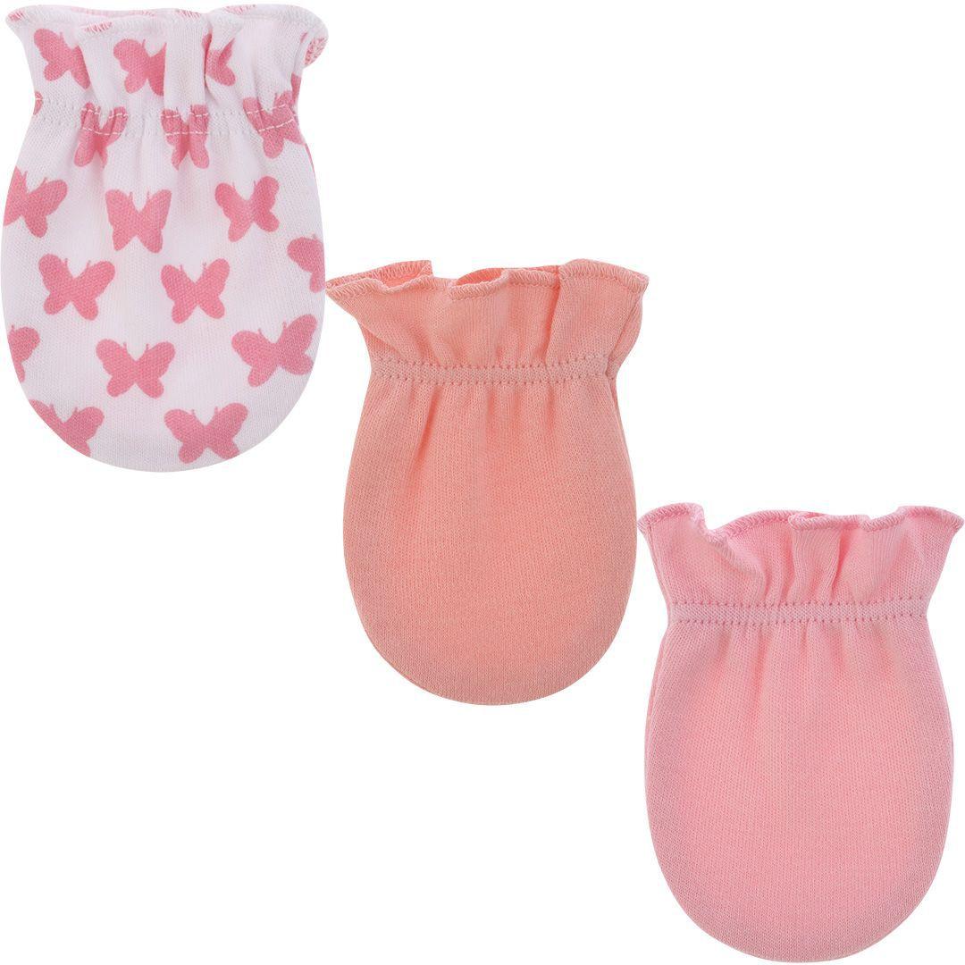 Kit 3 luvas recém nascido borboleta - Pimpolho  - Kaiuru Kids