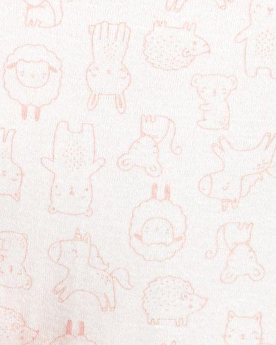 Kit 3 peças com casaco Fuzzy - Carters  - Kaiuru Kids