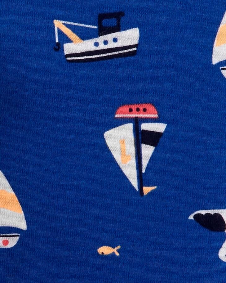 Kit 3 peças com short cinza e blusa laranja - Carters  - Kaiuru Kids