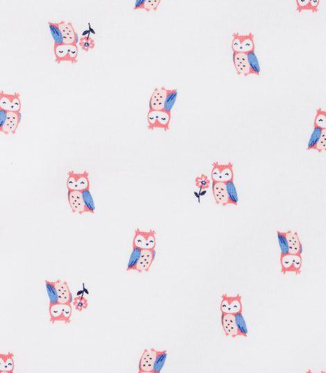 Kit 3 peças desenho coruja - Carters  - Kaiuru Kids