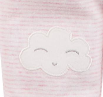 Kit 3 peças rosa nuvens - Carters  - Kaiuru Kids